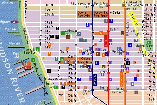 Chelsea Map | NYC | Pinterest | Nyc, Chelsea nyc and Broadway