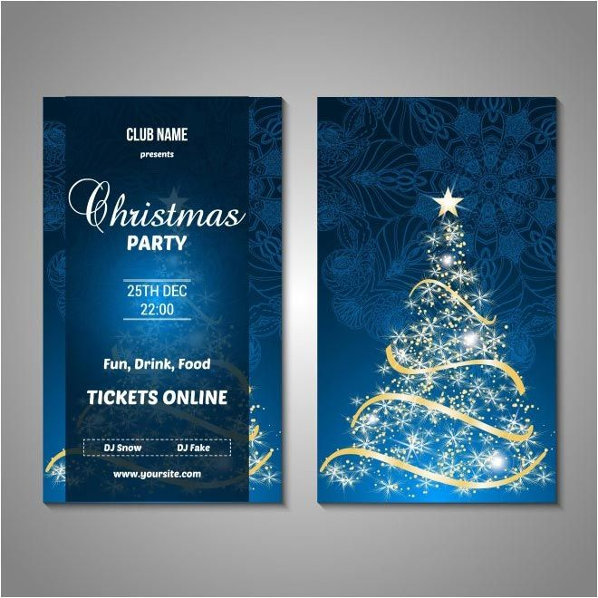 free vector Merry Christmas brochure    wwwcgvector free - free christmas card email templates