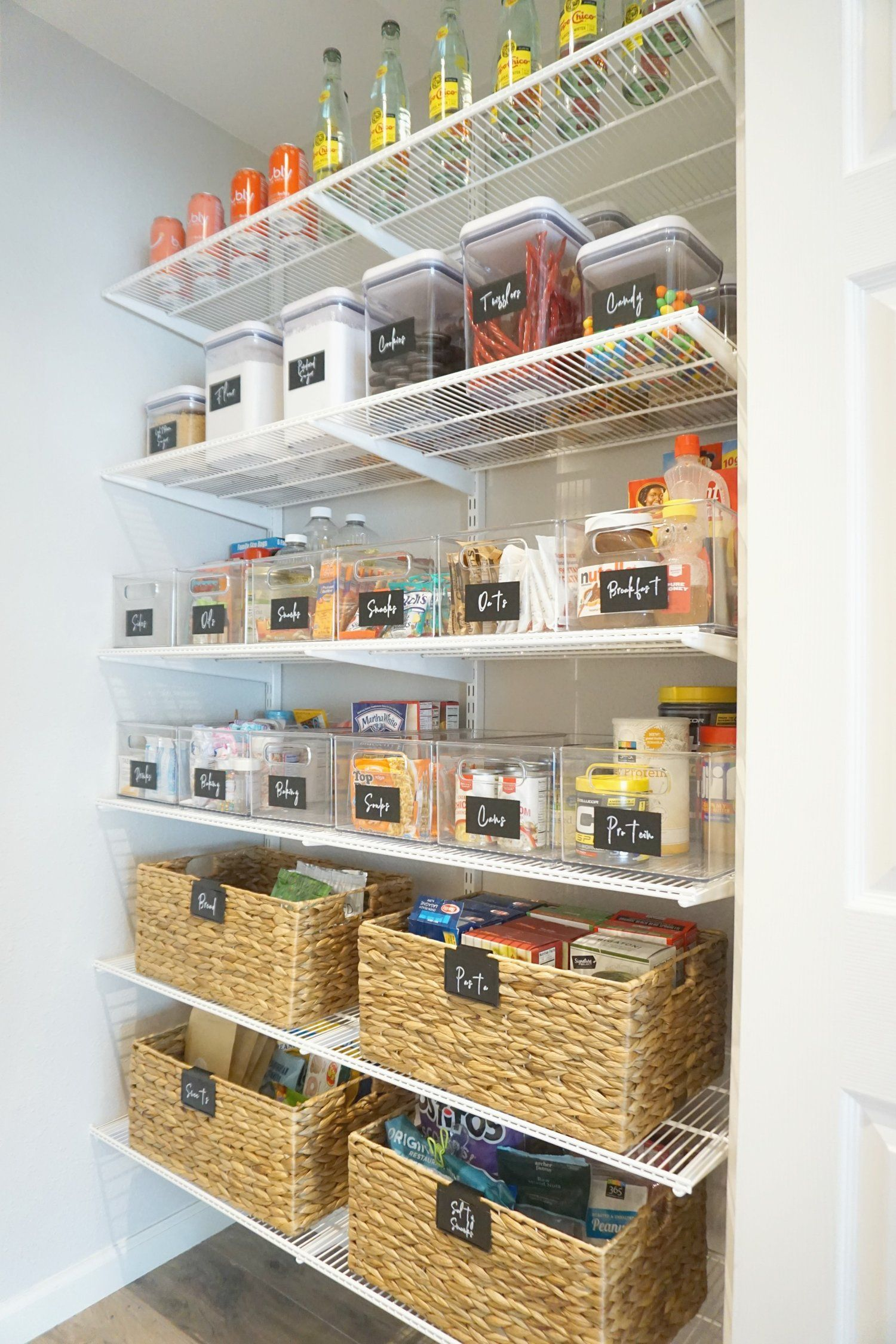 How To Organize Food In A Pantry