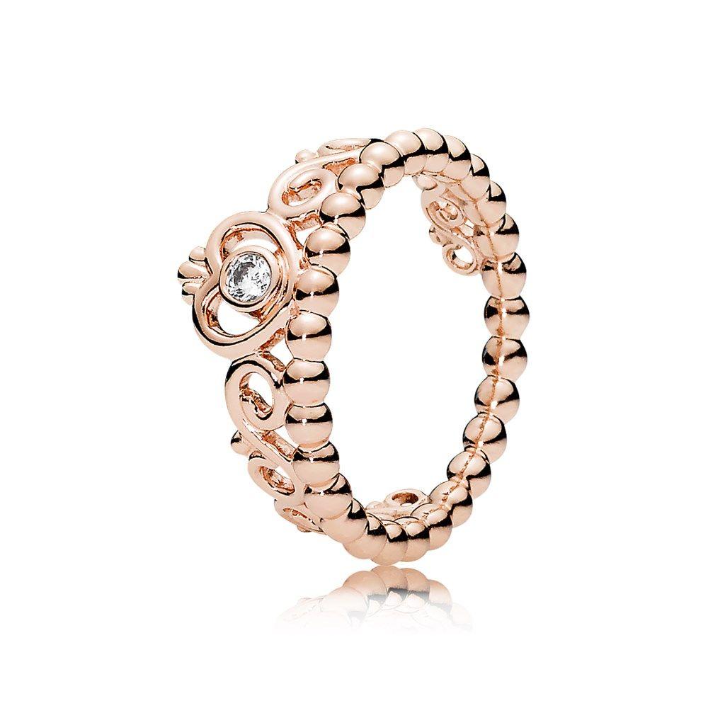 Pandora rose my princess tiara ring cz dance clothes and