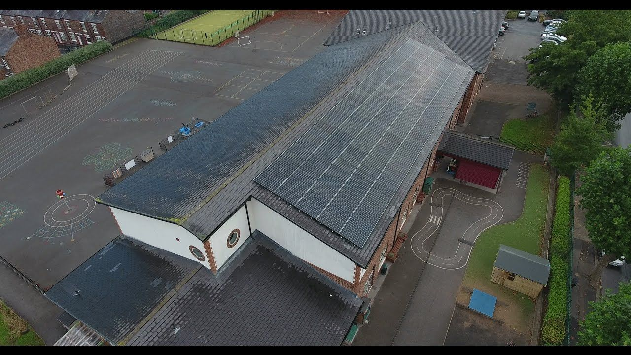 Stockton Heath Primary School 45kWp Solar Panel