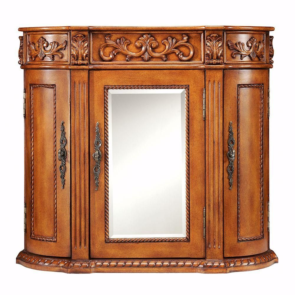 Home Decorators Collection Chelsea 31 5 In Bathroom Wall Cabinet