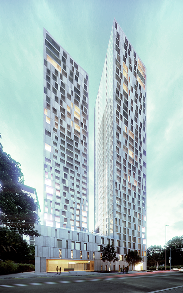 Jalan stonor luxury residential high rise Modern residential towers