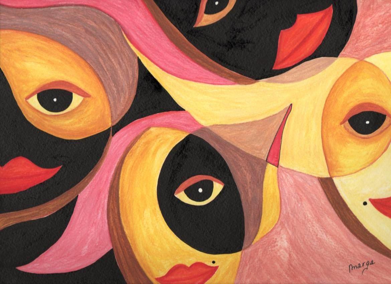 pintura semi abstracta - Buscar con Google
