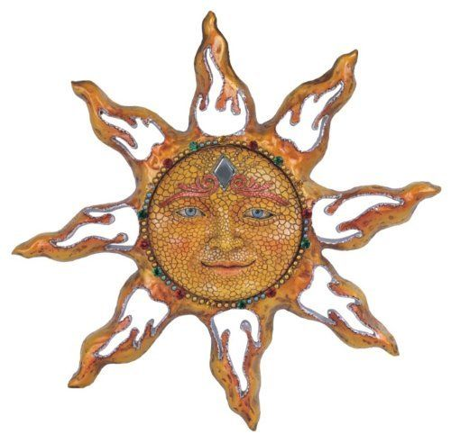 Sun Celestial Wall Art Indoor Outdoor Decoration by GSC, http://www ...