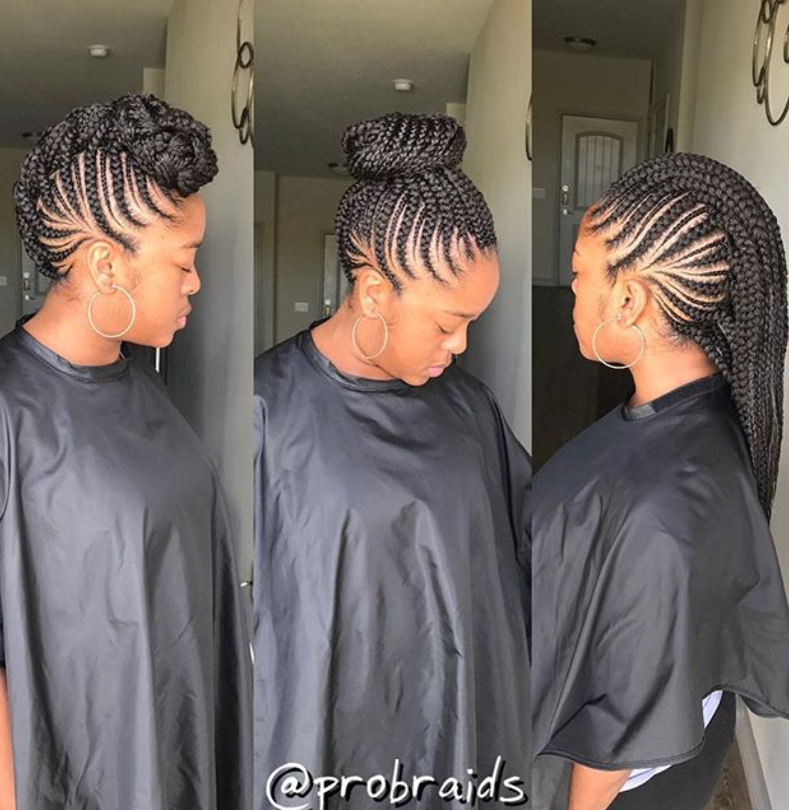Cornrow Mohawk Braided Mohawk Hairstyles African Braids Hairstyles Braided Mohawk Black Hair