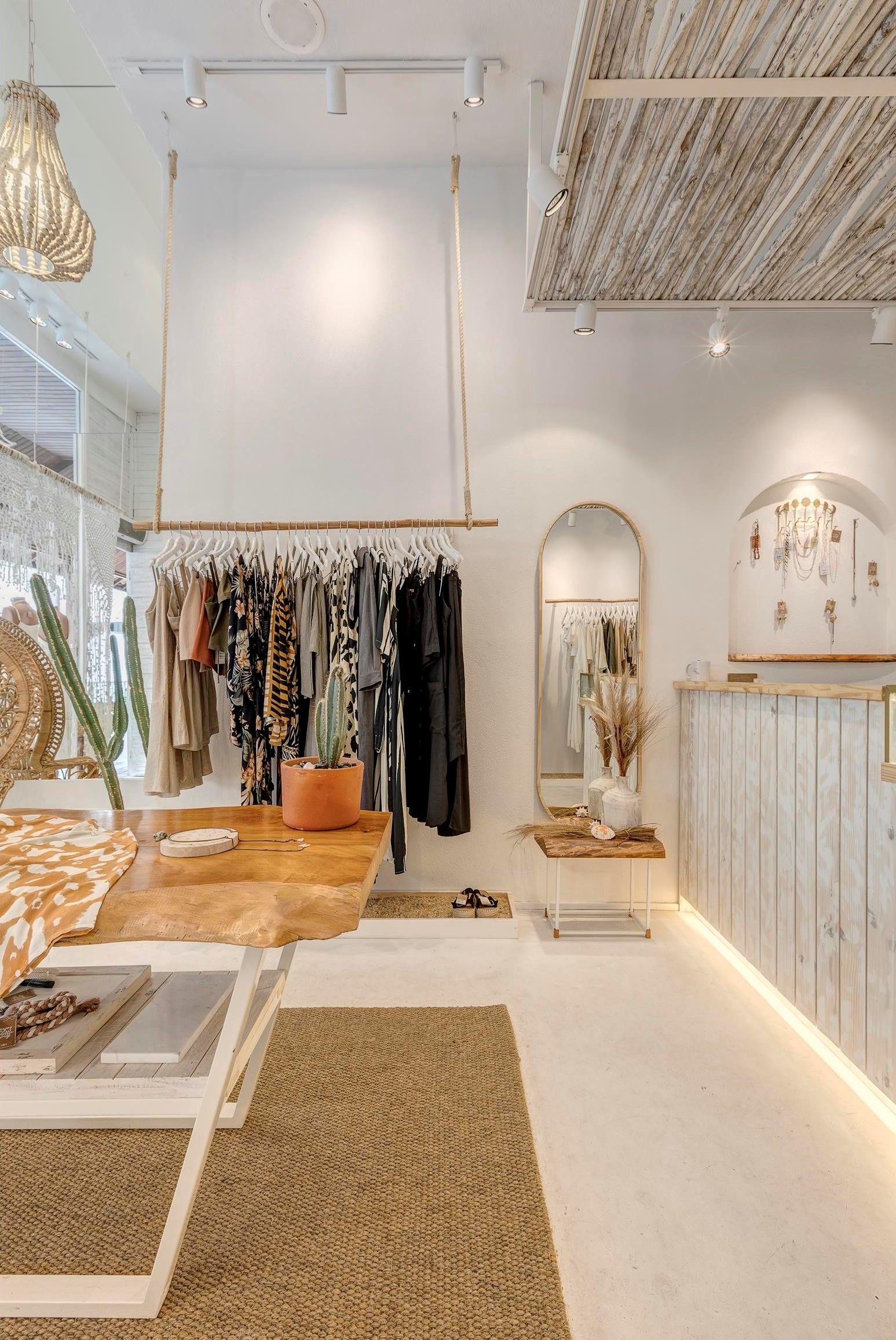 Retail Store Architecture Scandinavian And Rustic Mediterranean Boho And Natural Dec Store Design Interior Store Design Boutique Retail Store Interior Design