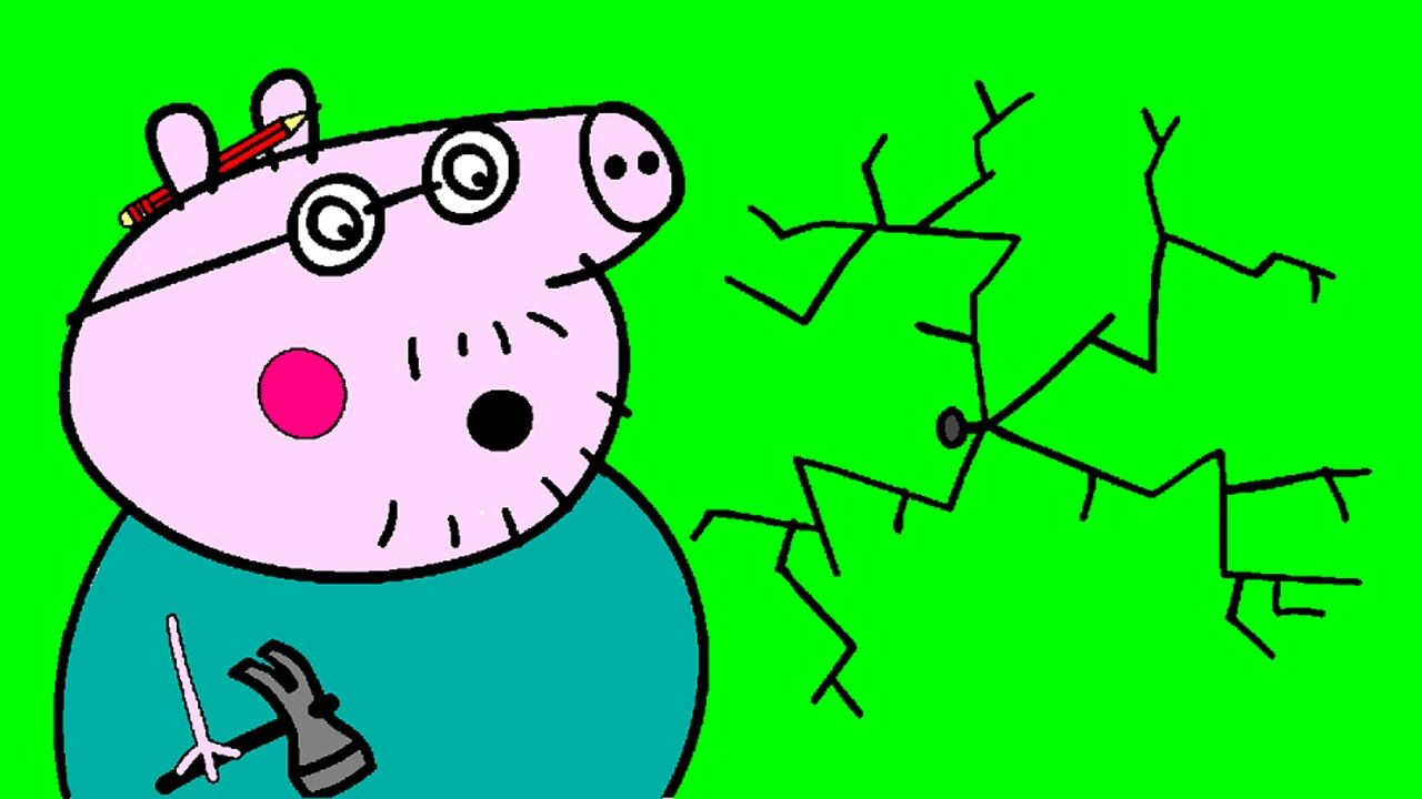 Peppa Pig Coloring Pages for Kids - Peppa Pig Coloring Games - Daddy ...