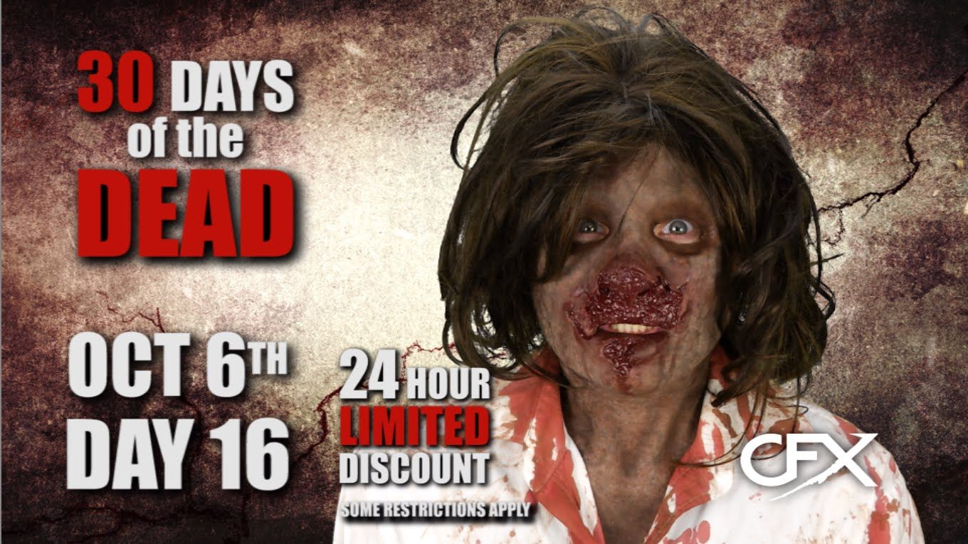 CFX Masks - 30 Days of the Dead - Day 16