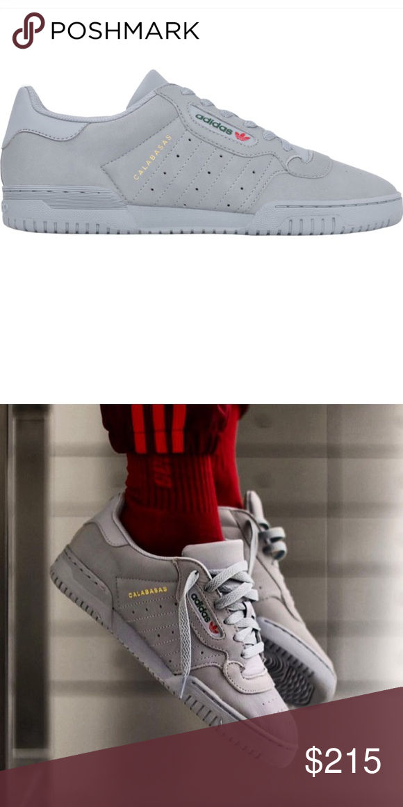 82218aa5d ... Grey Deadstock   brand new Adidas Yeezy powerphase in the grey  colorway. Comes in original box w  original tags! Men s size 5.5 women s  size 7 Yeezy ...