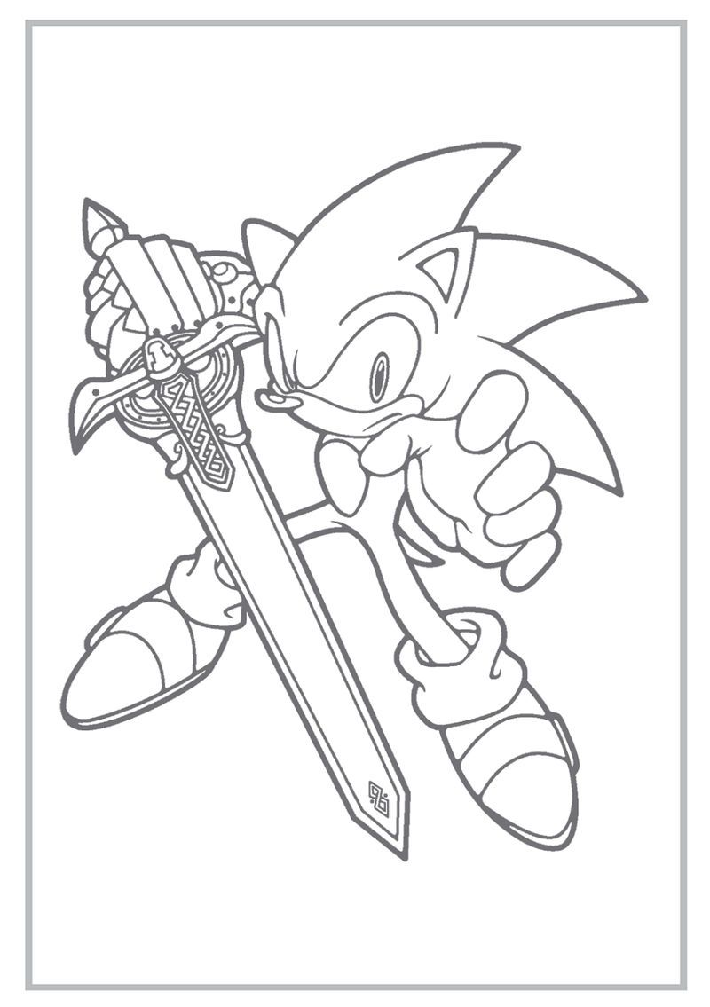 Sonic Boom Coloring Pages Activity Hedgehog Colors Cartoon Coloring Pages Coloring Pages