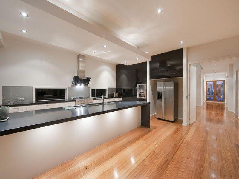 Island Kitchen Design black and white kitchen island   kitchen designs   pinterest