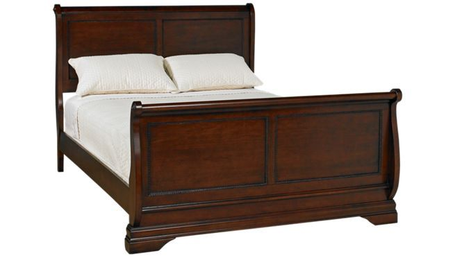 Largo Bordeaux Queen Sleigh Bed Jordan S Furniture Queen