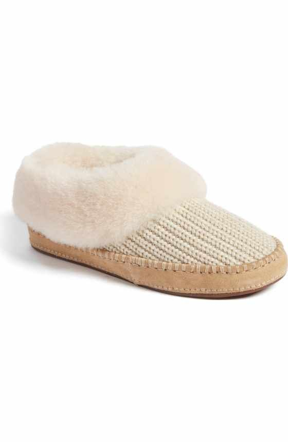 6c5a39fae8d9e Size 7.5 Free shipping and returns on UGG® Aira Knit Scuff Slipper (Women)  at Nordstrom.com. Kick back in style and comfort with a textured-knit UGG  slipper ...