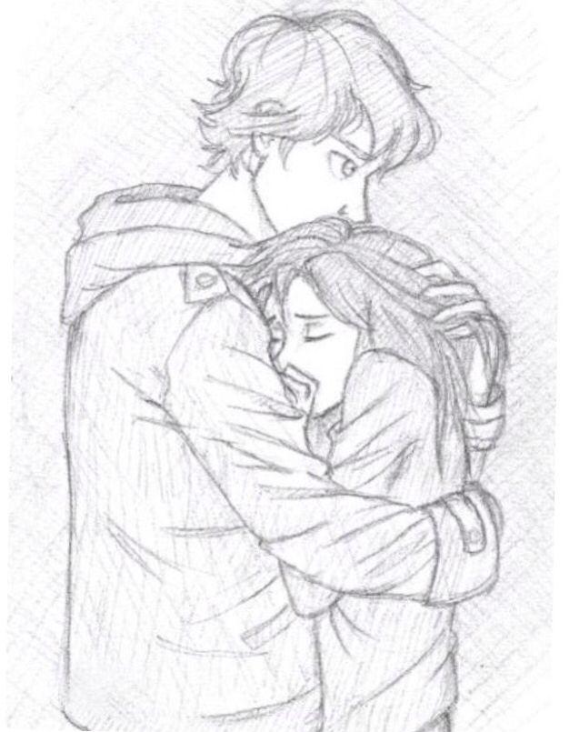 Der Junge/Freund will seine Freundin beschützen
