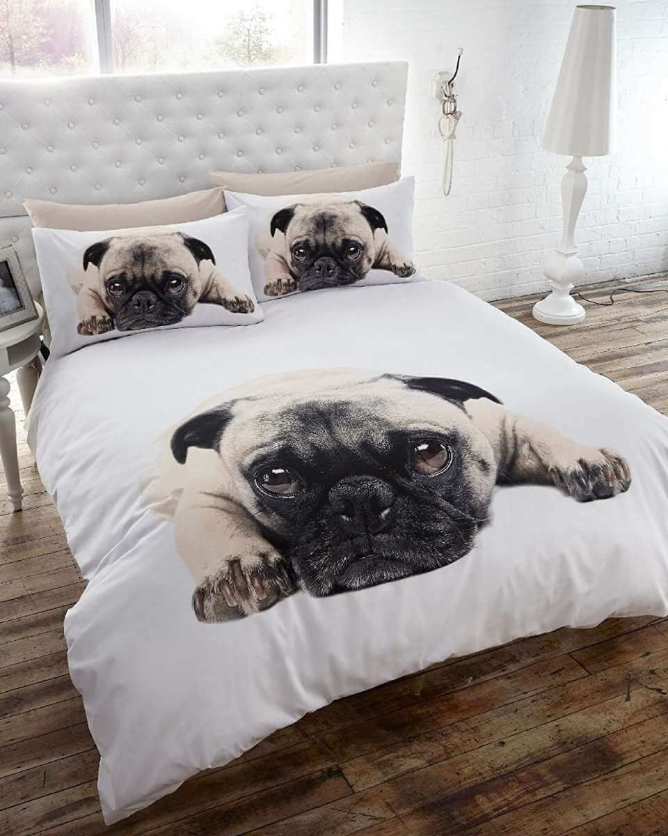 A Pug Themed Bedroom For Dog Lovers The Inspiration Edit Pugs