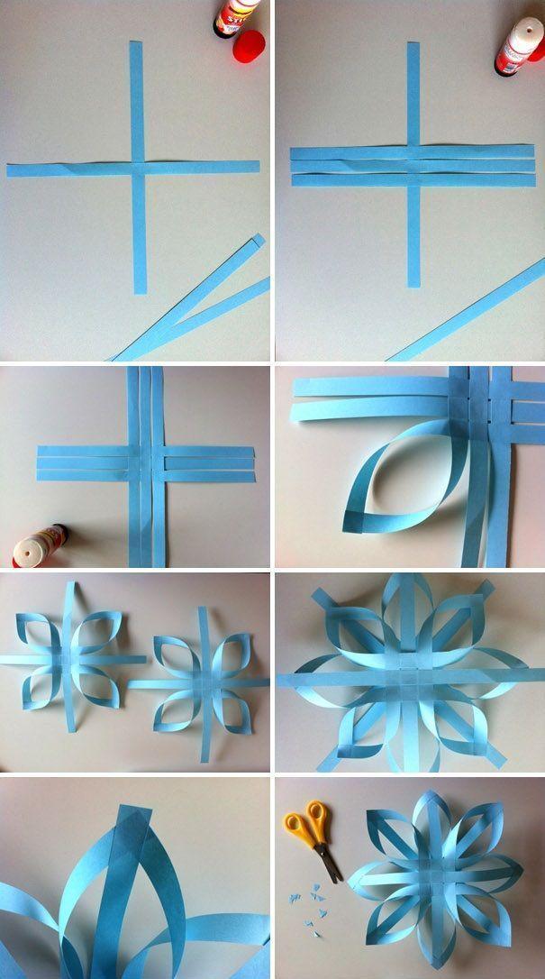Papier Handwerk Origami, Weihnachtsdekor DIY, Weihnachten Papier Handwerk, Papier Handwerk …