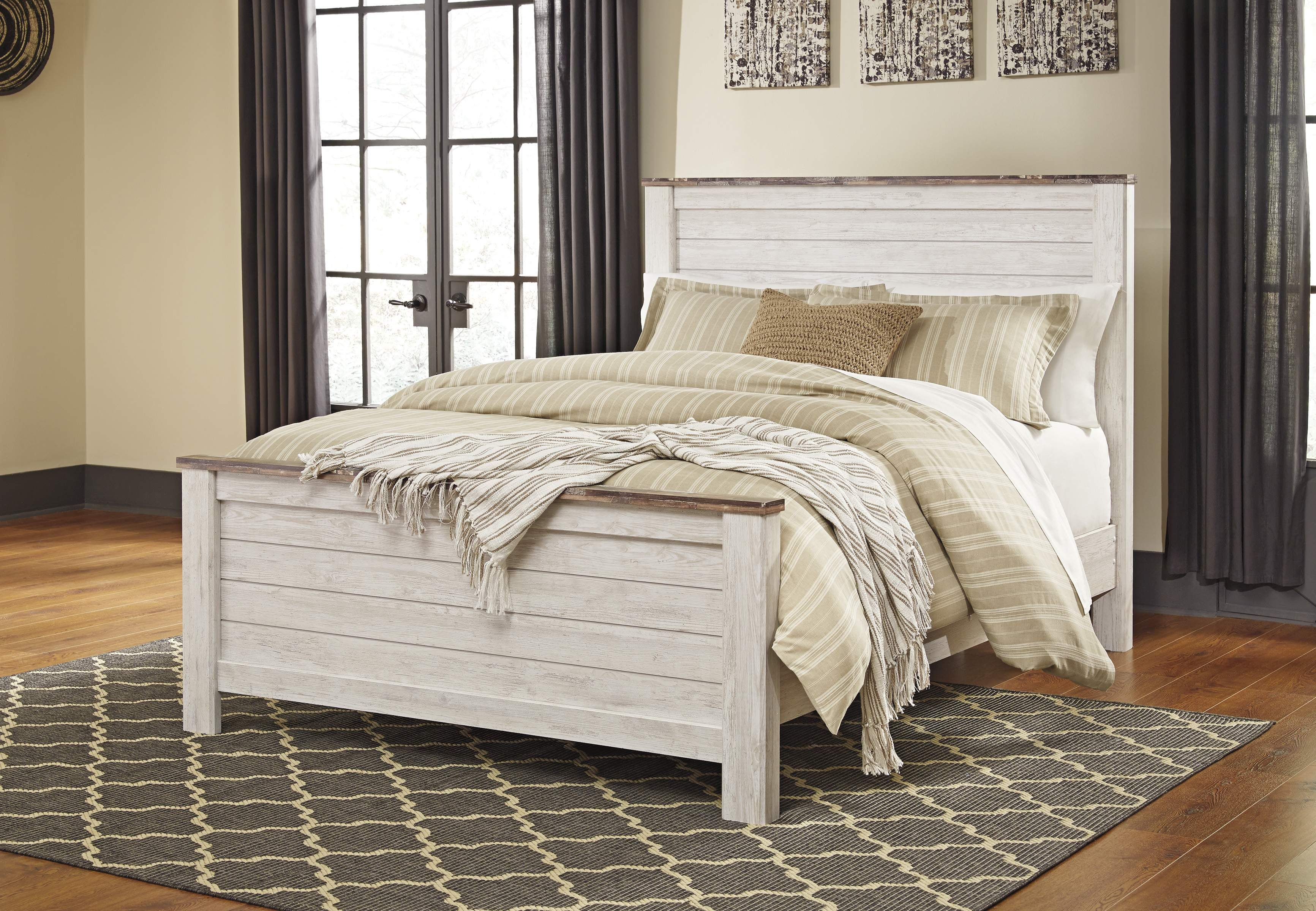 Willowton Queen Bed at Smith Home Furnishings Queen size