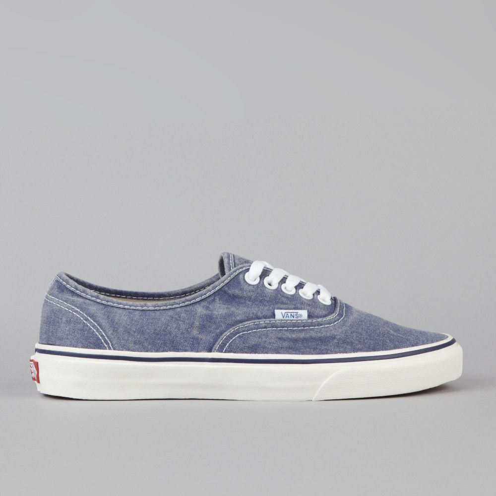 Flatspot - Vans Authentic (Washed) Medieval Blue  b109b1721c0
