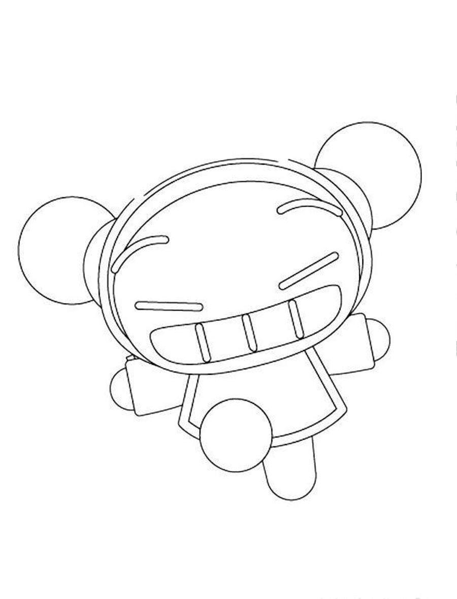 Printable Sketch Of Pucca Cartoon Colorasketch