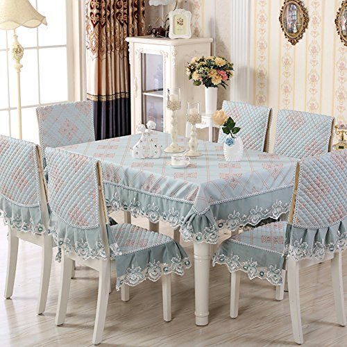 Table Cloth Cushion And Chair Covers European Style Dining Table