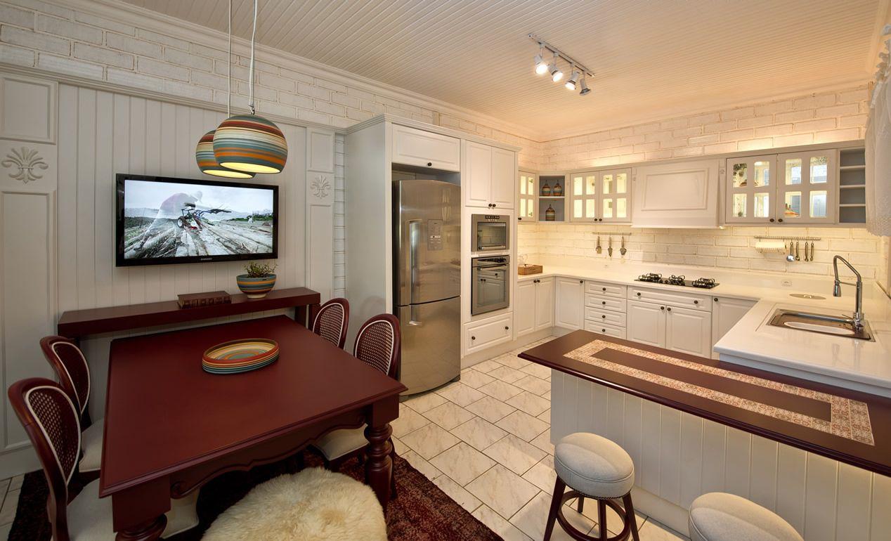 Cozinha no estilo clássico