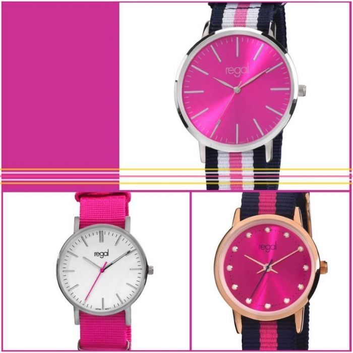 Stay Stylish With Pink From Regal Watches Pink Stylish Watches