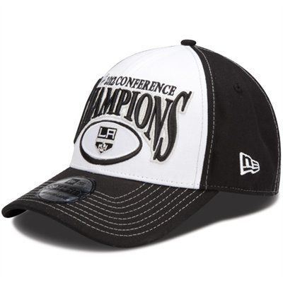 official photos b707d 5e9aa New Era LA Kings 2012 NHL Western Conference Champions Locker Room Hat