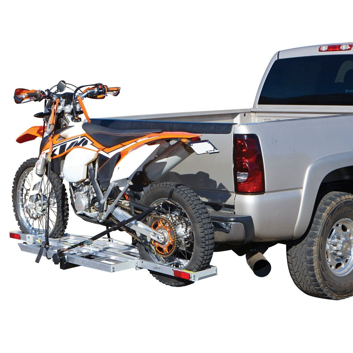 Motorcycle Scooter Dirt Bike Carrier Hauler Rack Ramp This