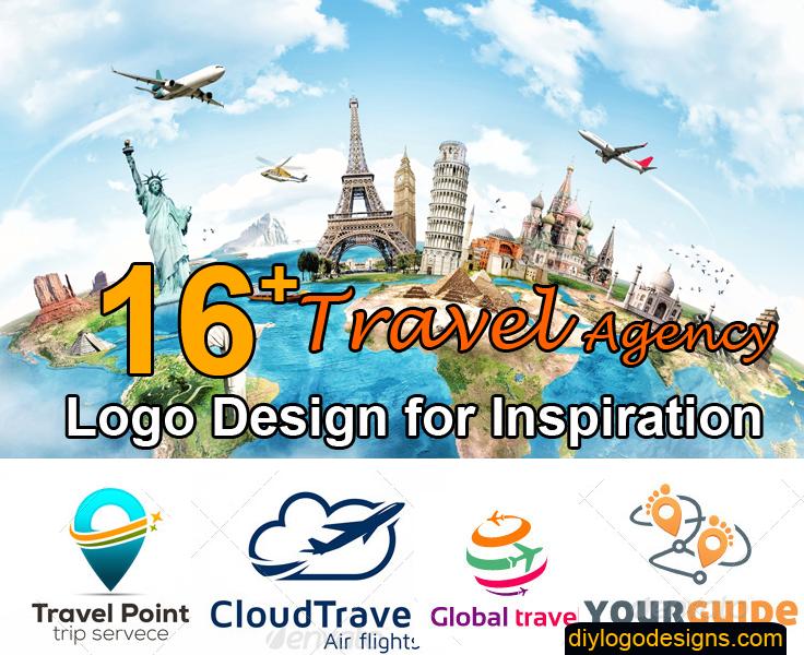 16+ Best Travel Agency Logo Design with Mockup | Travel Agency Ideas