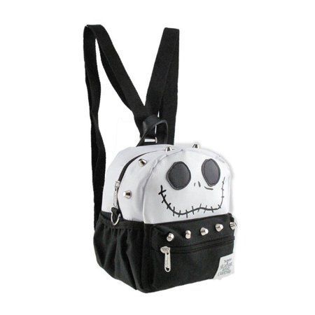 aff78e4827a Buy Nightmare Before Christmas Jack Style x-Small 2-in-1 Cross-body bag   Mini Backpack at Walmart.com