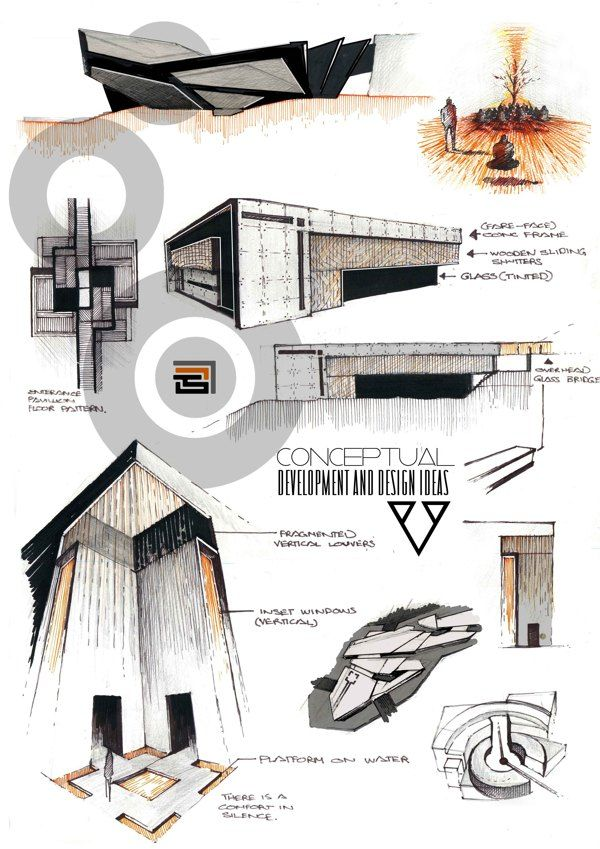 professional architecture portfolio on behance architecture