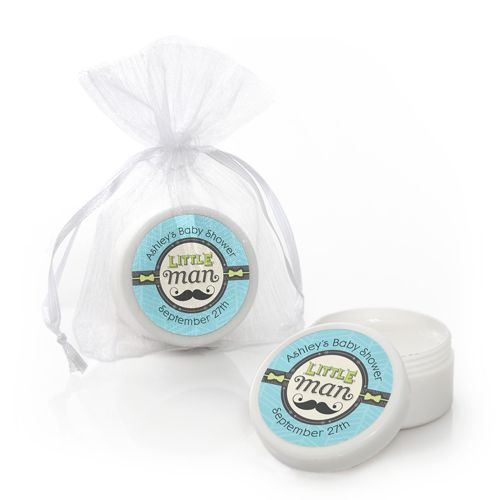 Dashing Little Man - Lip Balm Personalized Baby Shower Favors  $1.99