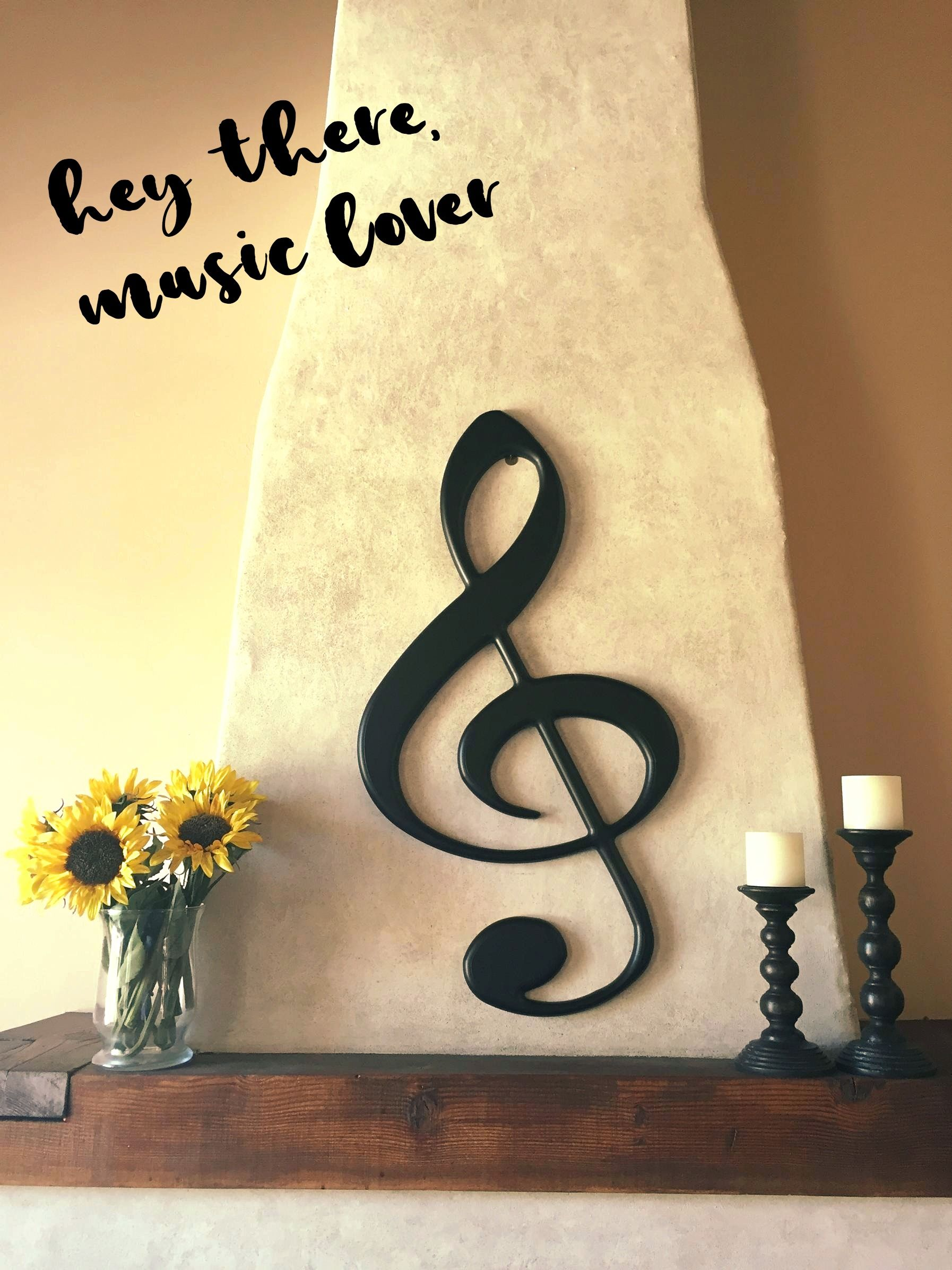 Wall art for musicians. High quality, finished product cut out using ...