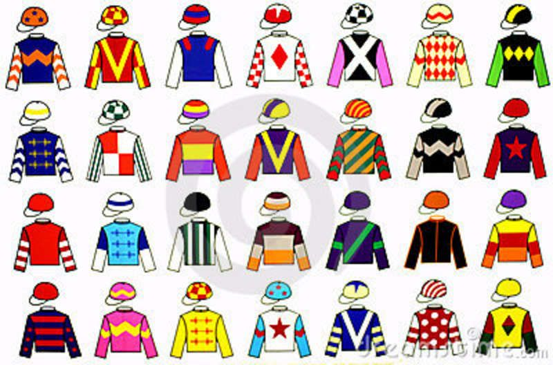 Jockey Uniforms Royalty Free Stock Images Image 3230639