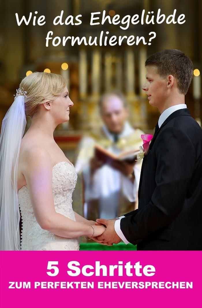 Beispiele lustige eheversprechen Das Eheversprechen