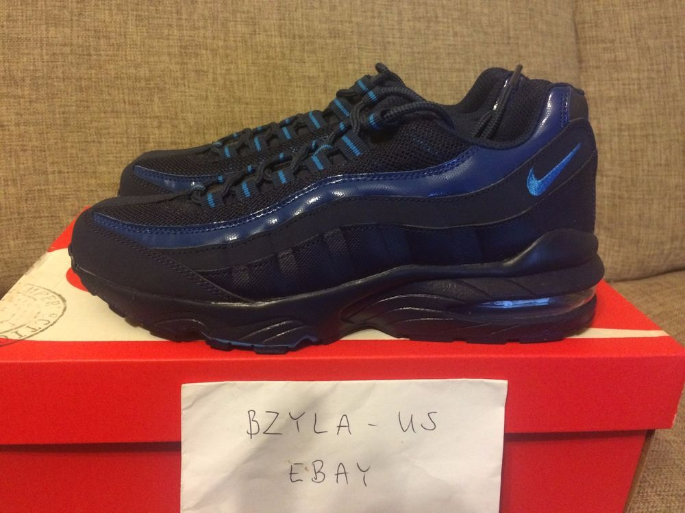 NIKE AIR MAX 95 GS MIDNIGHT NAVY 307565 447 BRAND NEW WITH BOX #Nike #