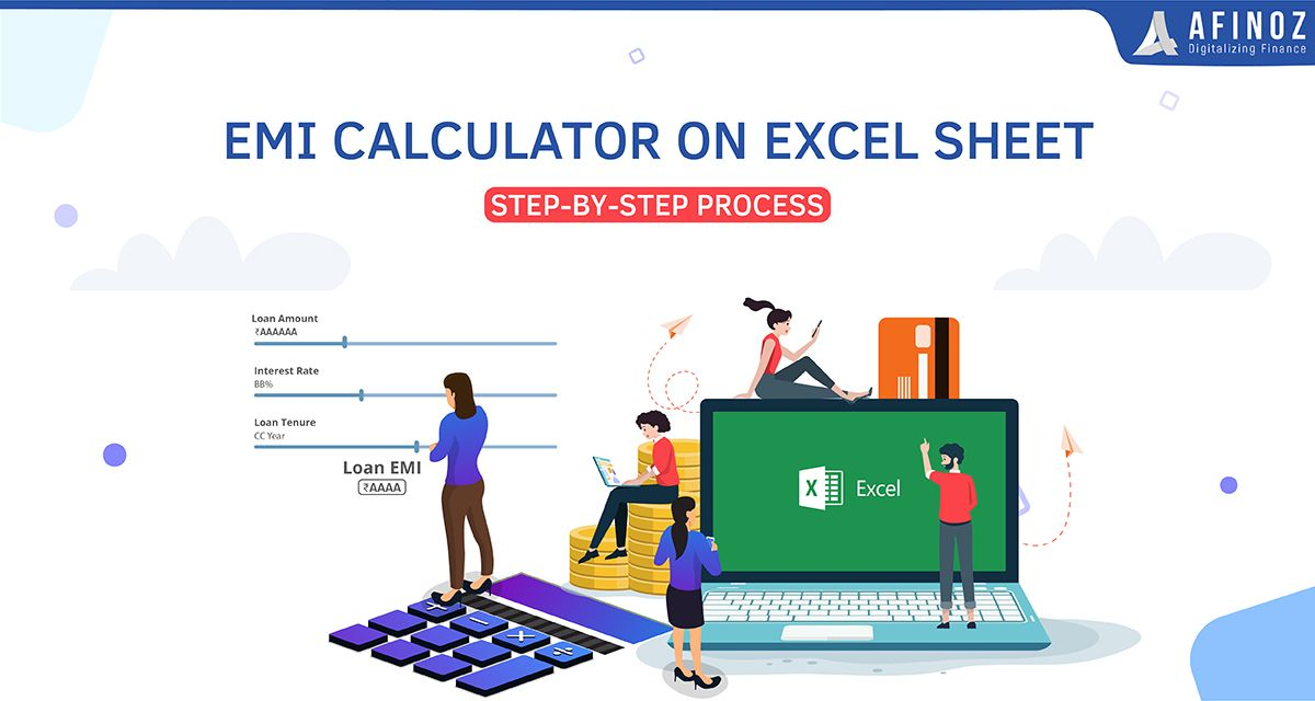 What Is Emi Method Of Emi Calculation On Excel Afinoz In 2020 Emi Excel Make It Yourself
