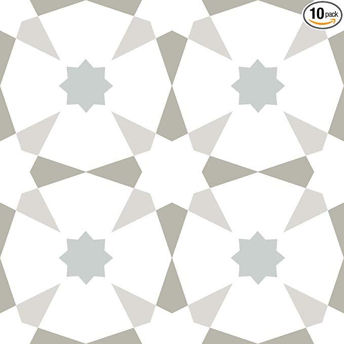 Floorpops Fp2952 Stellar Peel Stick Floor Tile Multi Color