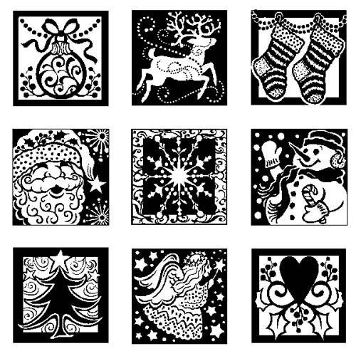 Seasonal Christmas Stamps Holiday Noel Unmounted Stamps Sheets Nativity