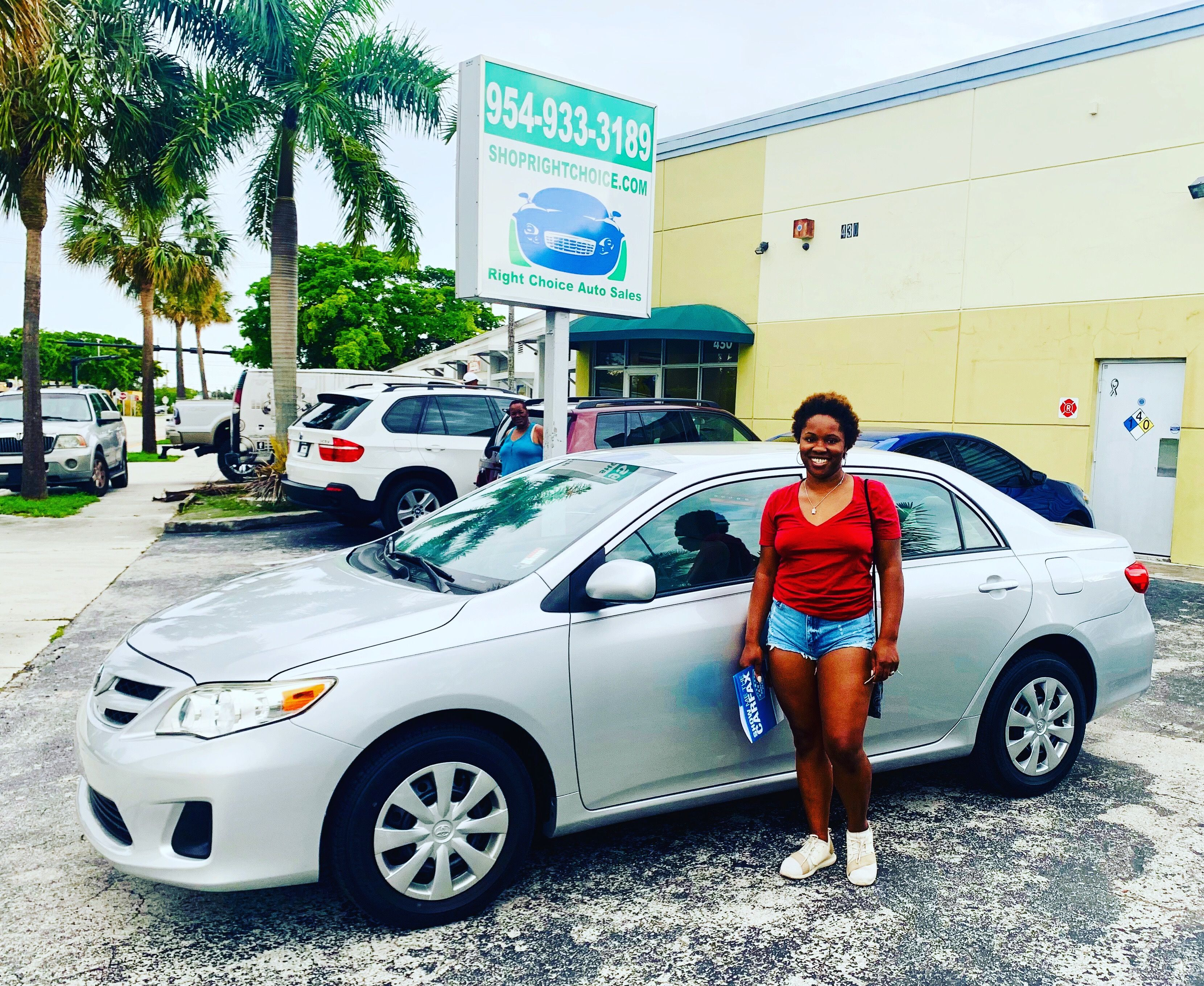 Right Choice Auto >> Another Happy Customer At Right Choice Auto Sales In Pompano