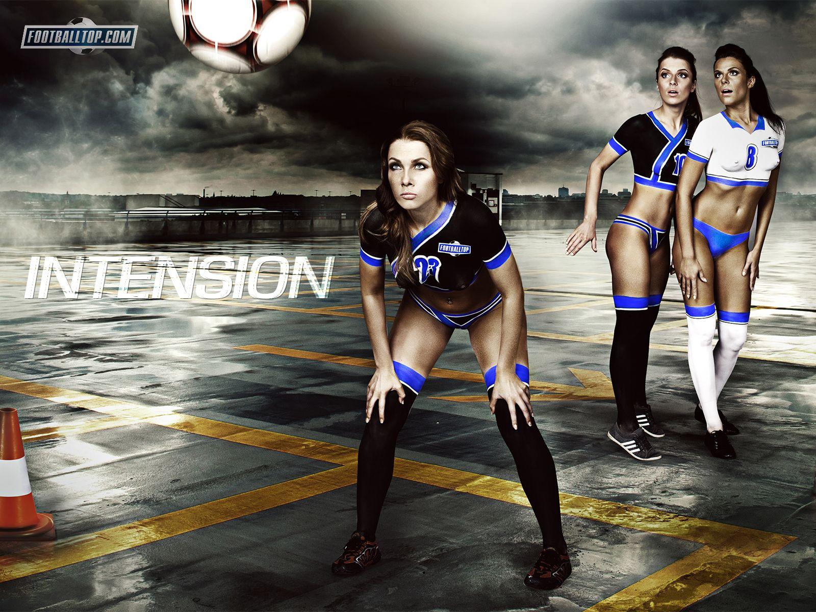 Soccer Girls Wallpaper Free: Naked Girls, Football And Parking