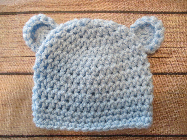 7294a80d11a Crochet Teddy Bear Hat