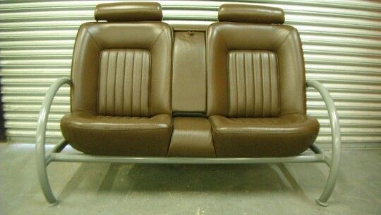 Recycled Car Seat Sofa
