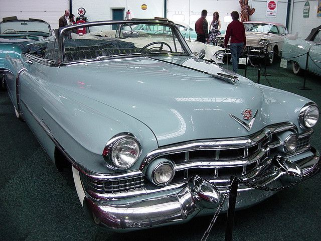 1951 Cadillac Sixty-two convertible by Autoscaph, via Flickr