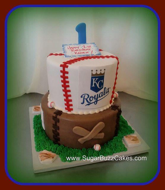 Kansas City Royals Baseball Royal cakes Royals and Cake