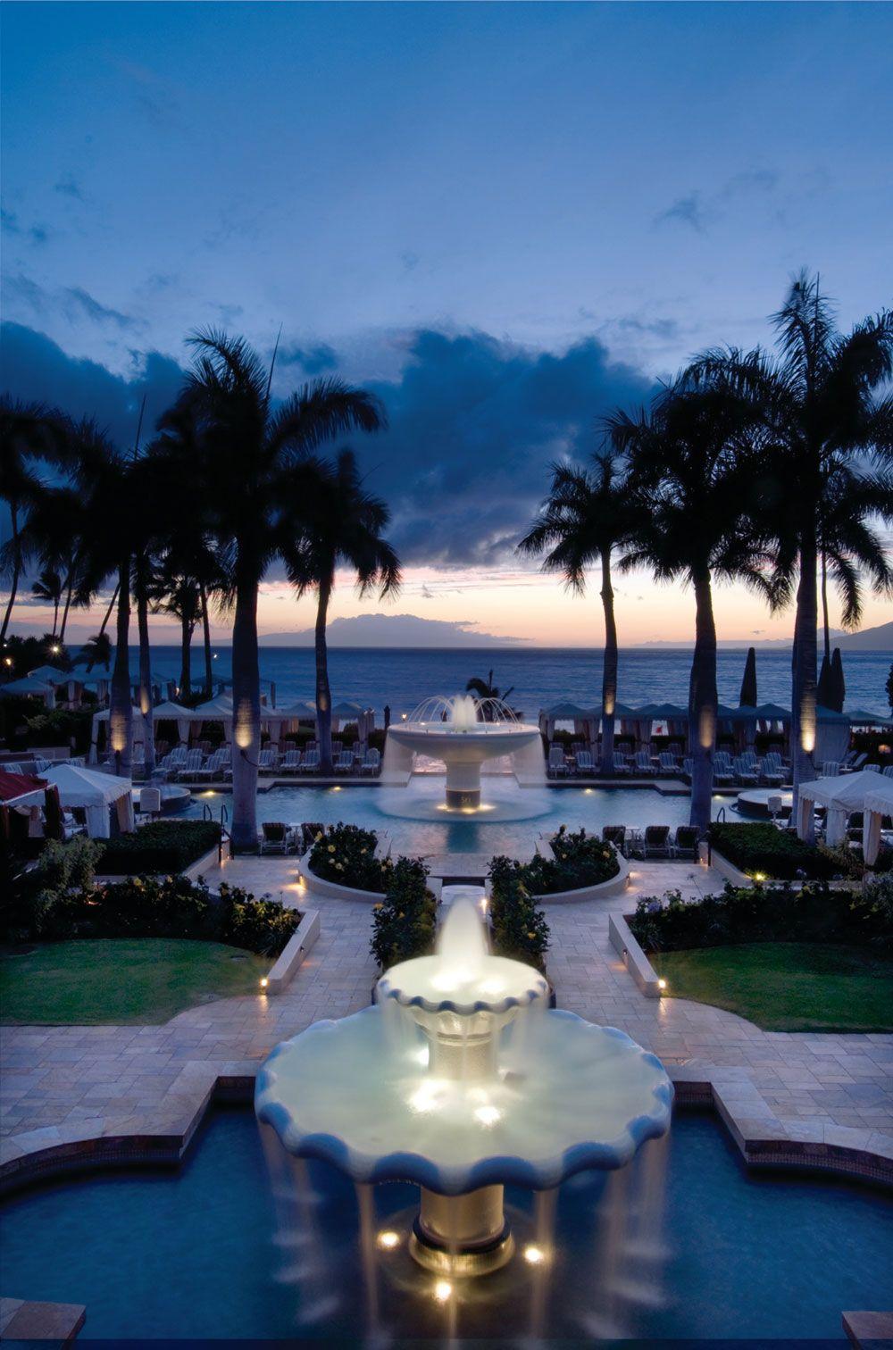 The Spectacular Four Seasons Resort Maui At Wailea Hawaii