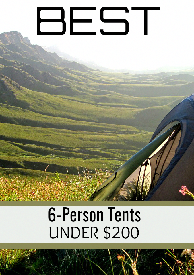 Best 6 Person Tents. Find 6 person c&ing tents under 200 Dollars. See more on SimpleTenting.com #c&ingitems & Best 6 Person Tents. Find 6 person camping tents under 200 Dollars ...