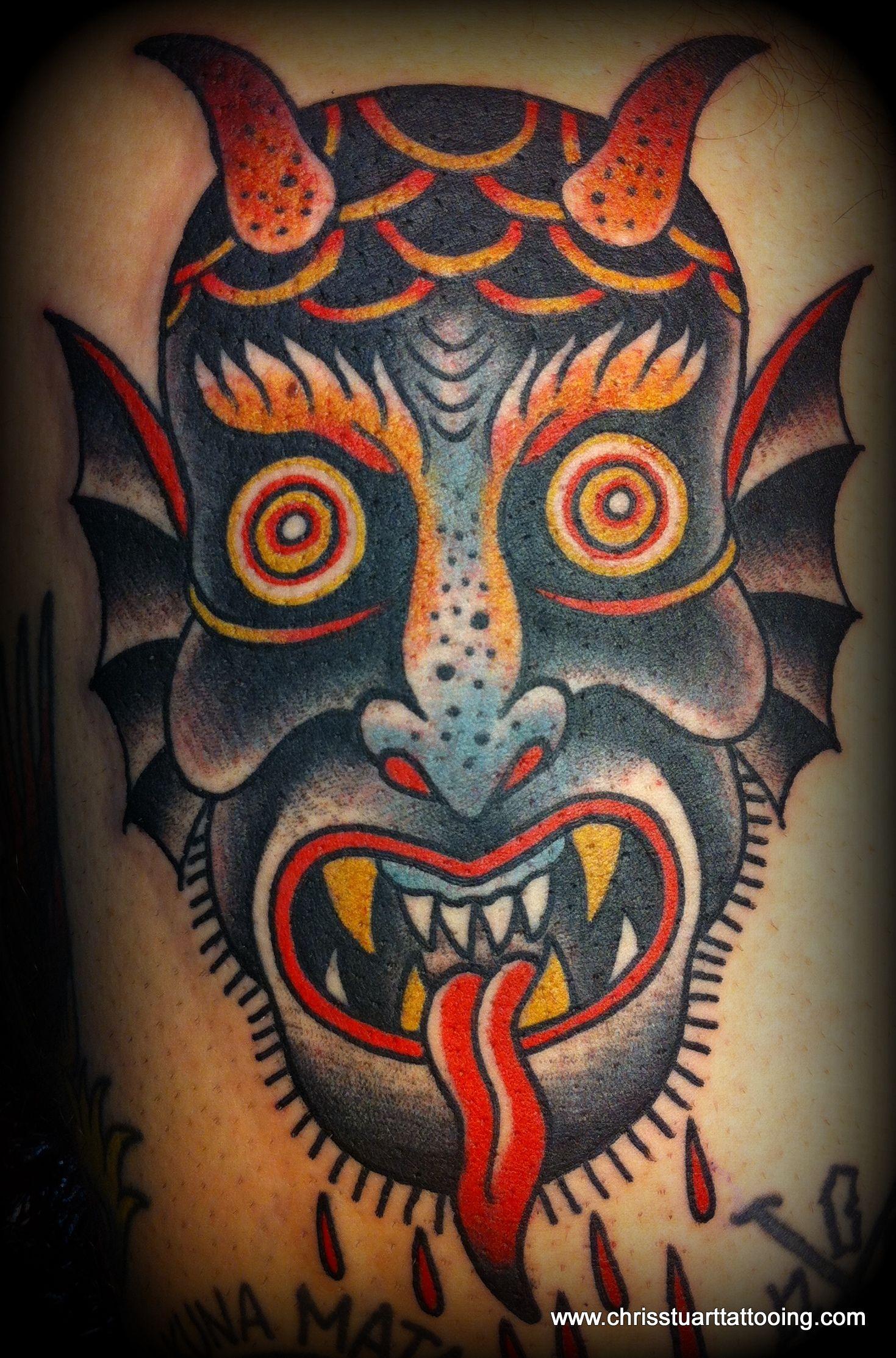 Chris Stuart Head Tattoos Ace Tattoo Classic Tattoo