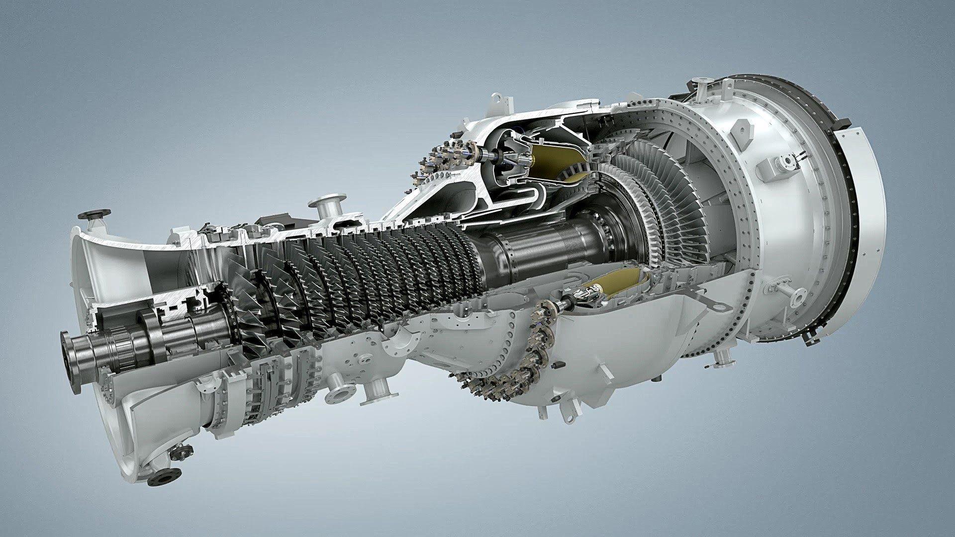 Siemens SGT-800:50 MW Gas Turbine | Astronautics | Gas